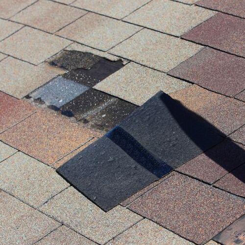 A Roof Needing Emergency Repair
