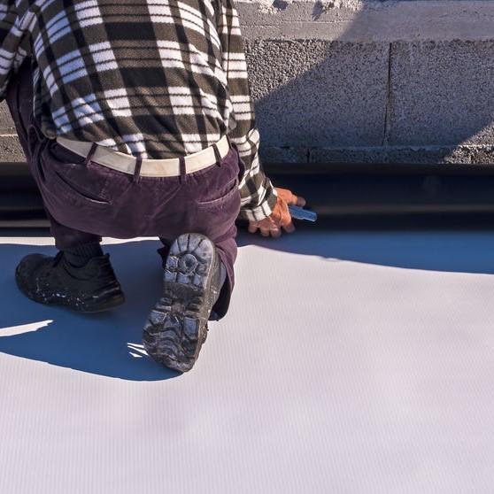 Installing TPO roof