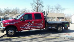 Truck For Thompson Roofing & Siding