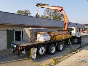 Roofers Preparing for Flat Roofing Services