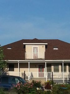 House After Receiving Professional Roofing Services