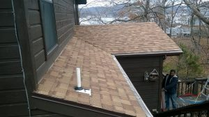 New Shingle Roof Installation