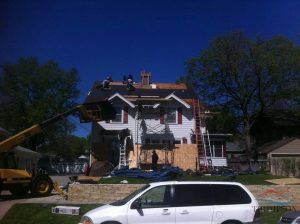 Roofers Replacing a Roof in a Variety of Locations